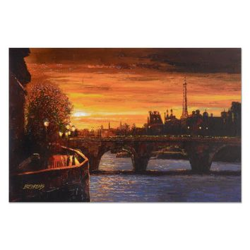 Twilight on the Seine II