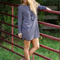 Be Ever Wonderful Dress in Stripes | Monday Dress Boutique