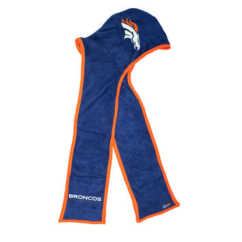 Denver Broncos NFL Ultra Fleece Hoodie Scarf