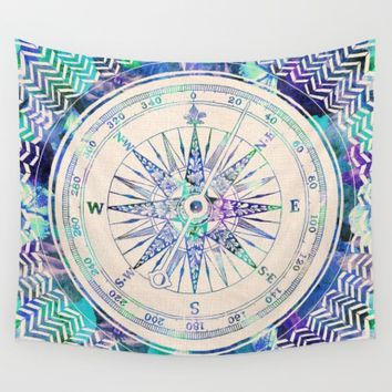 Follow Your Own Path Wall Tapestry by Bianca Green