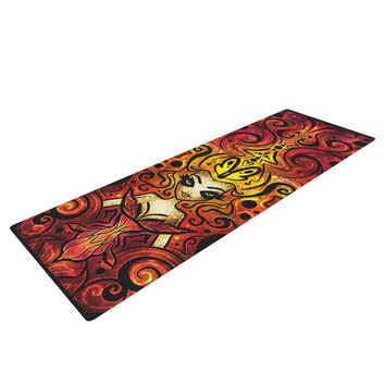 "Mandie Manzano ""She Devil Full"" Yoga Mat"