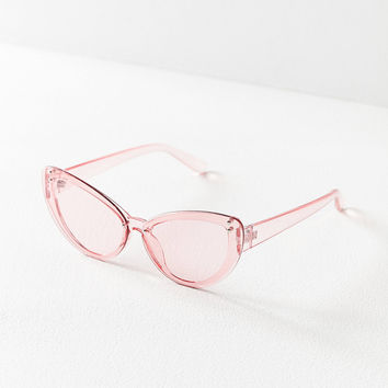 Effie Overlay Cat-Eye Sunglasses | Urban Outfitters