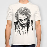 The Joker T-shirt by Nicebleed