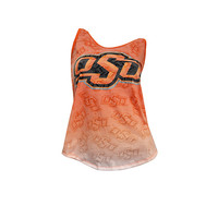 Oklahoma State Cowboys Cameo Burnout Tank Top