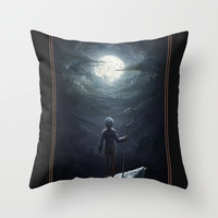 Jack Frost Throw Pillow by Westling