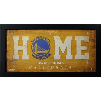ONETOW Golden State Warriors 10x20 Home Sweet Home Sign