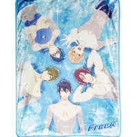 Free! Characters Sublimation Throw