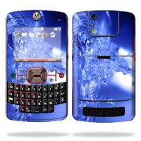 Mightyskins Protective Skin Decal Cover for Motorola Q9C or Q9M Cell Phone Sticker Water Explosion