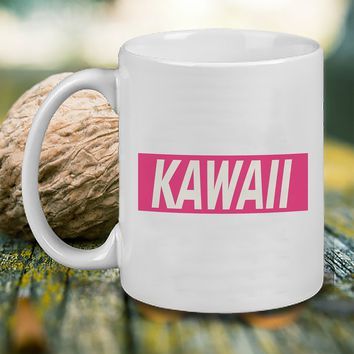 Kawaii Mug, Tea Mug, Coffee Mug
