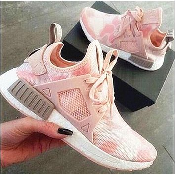 """""""Adidas"""" NMD XR1 Duck Camo Women Men Running Sport Casual Shoes Sneakers Camouflage pink"""