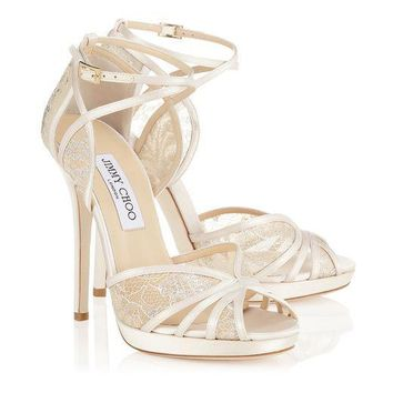 Jimmy Choo Women Fashion Heels Shoes Sandals