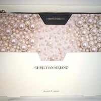 "Christian Siriano 13"" Laptop Sleeve Case Pink Pearl/Black CS-MLS13PE"