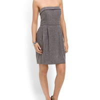 Strapless Tweed Dress - Women - T.J.Maxx