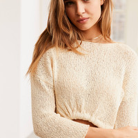 Ecote Tucked-Front Pullover Sweater | Urban Outfitters