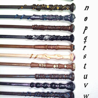 Harry Potter Fantasy Wands - Metallic Accents