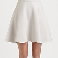 Rebecca Taylor - Knit Flared Skirt - Saks Fifth Avenue Mobile