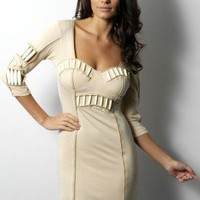 Rare Fashion: Opulence Tribal Beaded Dress - Party Dresses - OUTLET