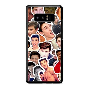 Shawn Mendes Collage 29 Samsung Galaxy Note 8 Case