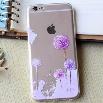 Hollow Out Dandelion iPhone 5se 5s 6 6s Plus Case Cover + Nice Gift Box 364