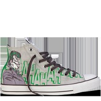 Converse - All Star DC Comics- The Joker - Hi - Grey