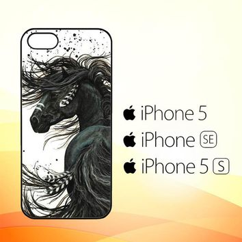 Horse Majestic Mustang Horse L1250  iPhone 5|5S|SE Case