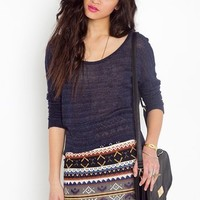 Aspen Knit Skirt  in  What's New at Nasty Gal