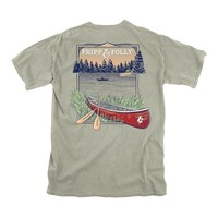 Backcountry Tee in Bay by Fripp & Folly