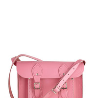 Upwardly Mobile Satchel in Pink - 11"