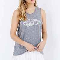 Vans Authentic Skater Muscle Tee- Grey