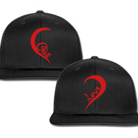 One Love Right couple matching snapback cap
