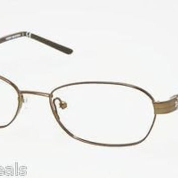 NEW AUTHENTIC TORY BURCH TY1008 COL 182 OLIVE METAL EYEGLASSES FRAME