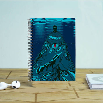 Ponyo Of The Cliff Photo Notebook Auroid