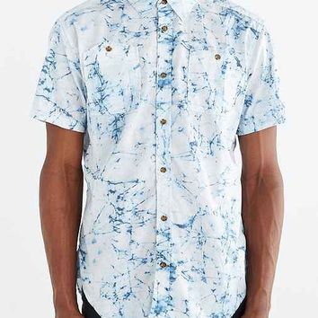 Burton Glade Short-Sleeve Button-Down Shirt- White