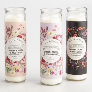 Tall Filled Candle Collection