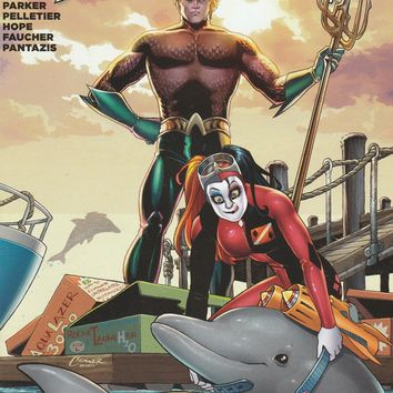 Aquaman # 39 DC Comics The New 52! Vol. 7 Harley Quinn Cover