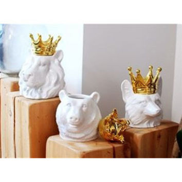 Imm Living Crown Animal Jars
