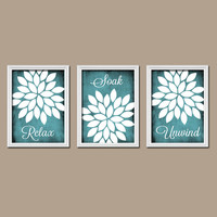 Bedroom Wall Art Live Laugh Love Coral Wall Art Bathroom Wall Art Flower Wall Art Girl Nursery Wall Art Prints Set of 3 Home Decor Artwork