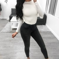 Becca Mid Rise Jeans