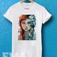 disney frozen fan art ,T shirt for women and men
