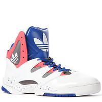 adidas The Good Luck Charm Sneaker in True Blue White and Iron : Karmaloop.com - Global Concrete Culture