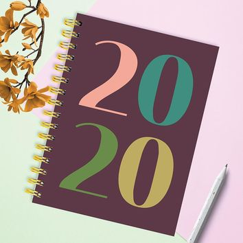 Year in Color Medium Weekly/Monthly Planner