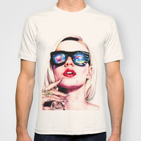 Iggy Azalea Portrait T-shirt by Tiffany Taimoorazy | Society6