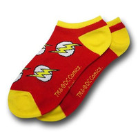 DC Comics The Flash Logo Ankle Socks
