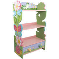 Fantasy Fields Girl's Magic Garden Bookcase