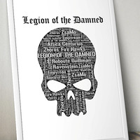 Legion of the Damned, Warhammer 40K- Printable Poster - Digital Art - Download and Print
