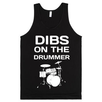 Dibs On The Drummer Tank