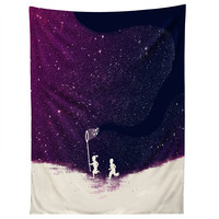Budi Kwan Starfield Purple Tapestry