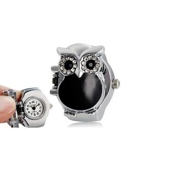 Hot Sale New Arrival Creative Retro Owl Ring Watch