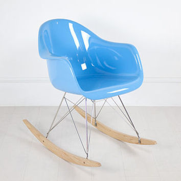 Eames Style Rar Rocker Chair