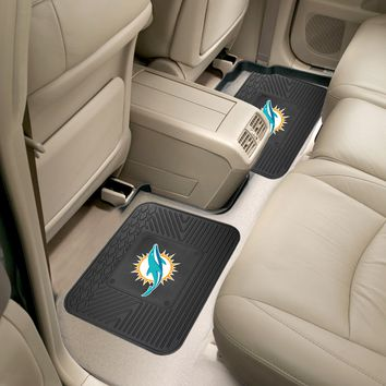 "NFL - Miami Dolphins 2-pc Utility Mat 14""x17"""